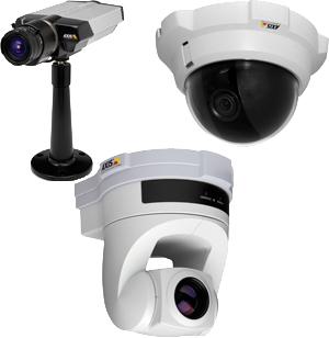 система видеонаблюдения здания